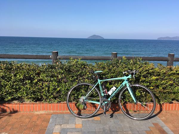 年明け糸島-唐津往復ライド