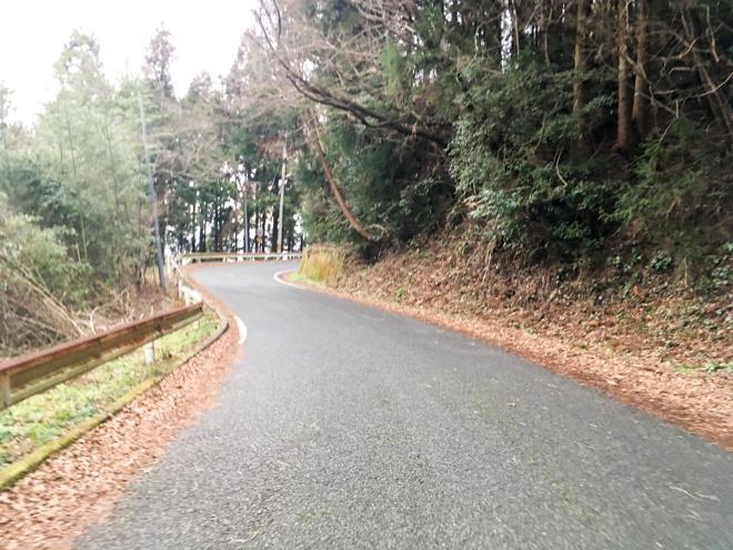 長野峠登り