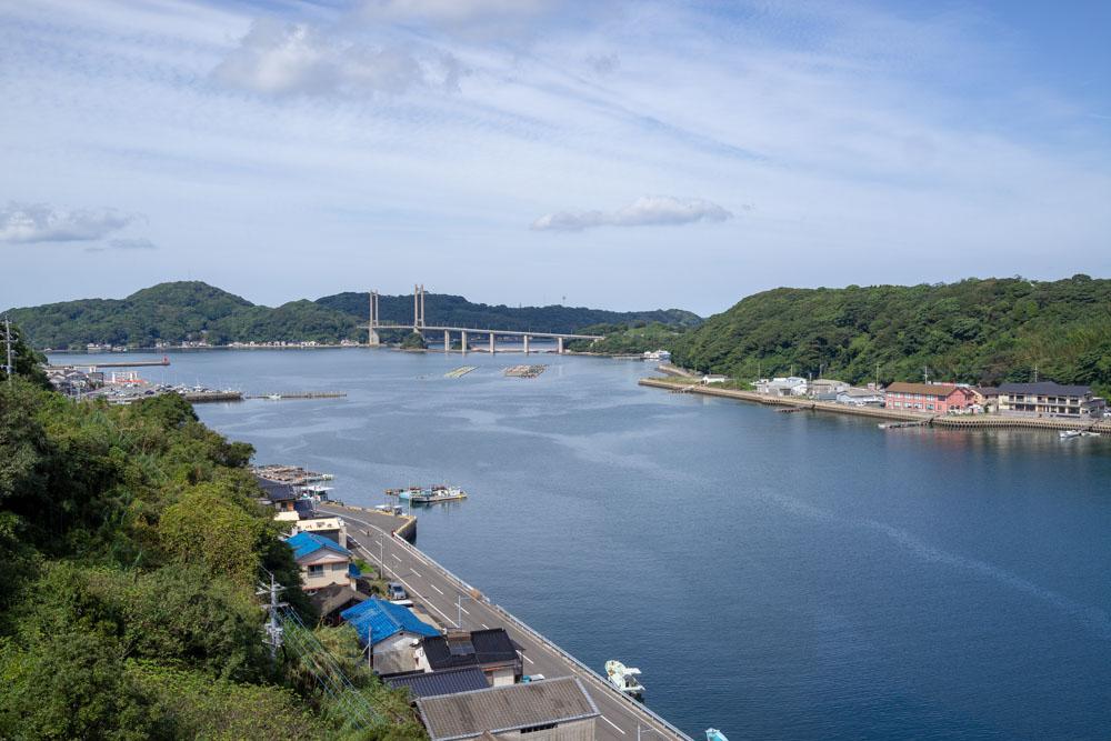 名護屋大橋からの景色