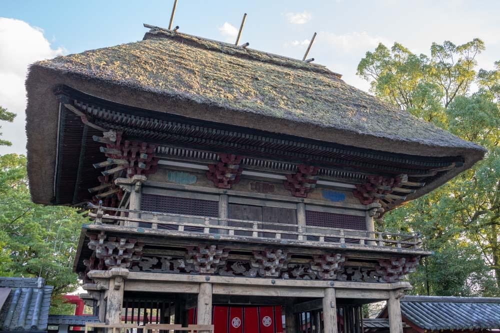 国宝の一つ「楼門」