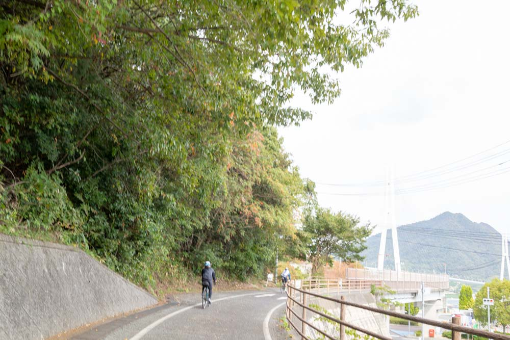 多田羅大橋へ