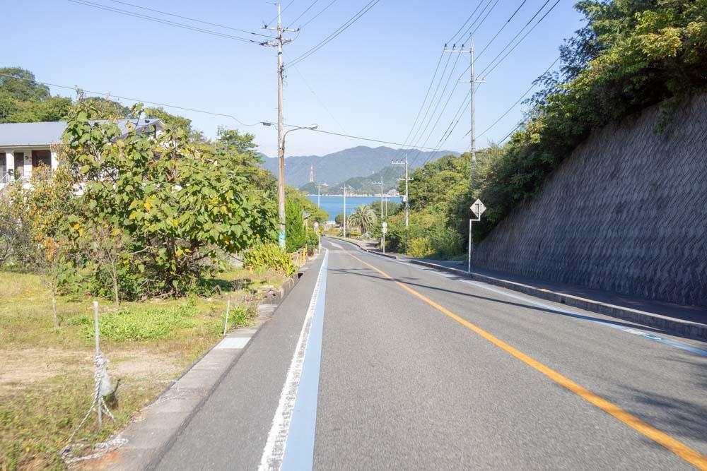 因島に到着