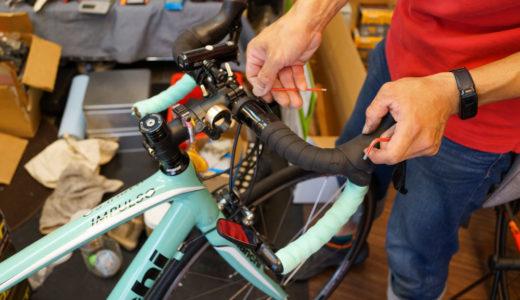 イベント参加に向け、ネット通販で買ったロードバイクを車検に出してみた