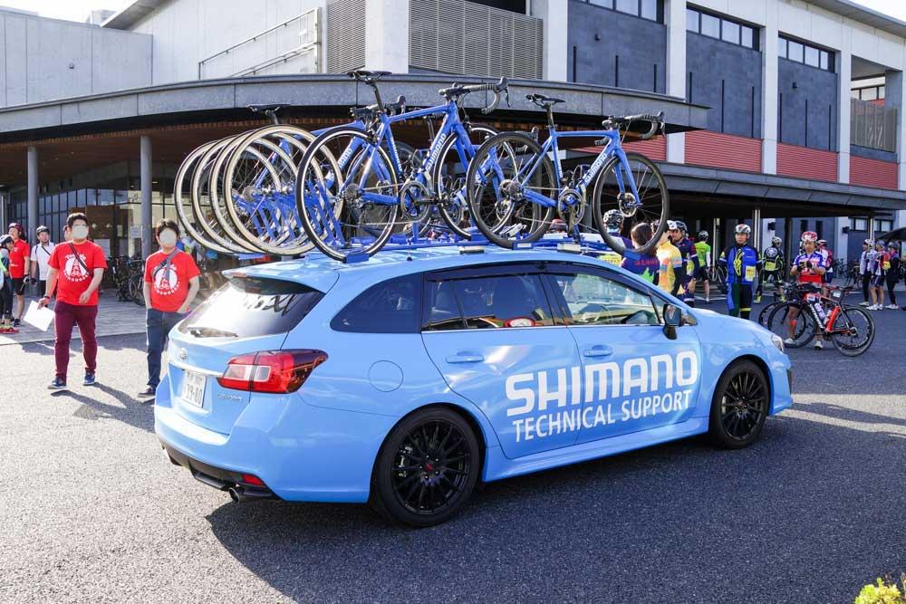 SHIMANOのモデルカー